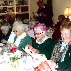 Over 60s Christmas Lunch